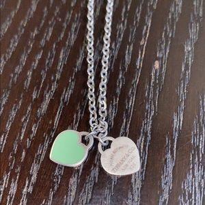 Tiffany and Co. heart pendants